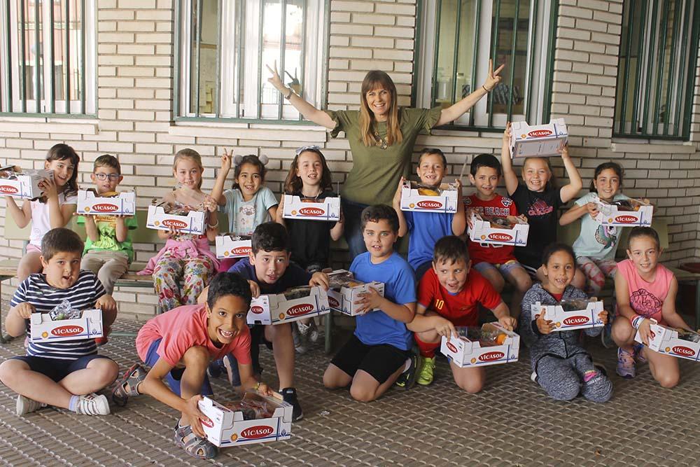 Finaliza el programa anual de actividades con escolares