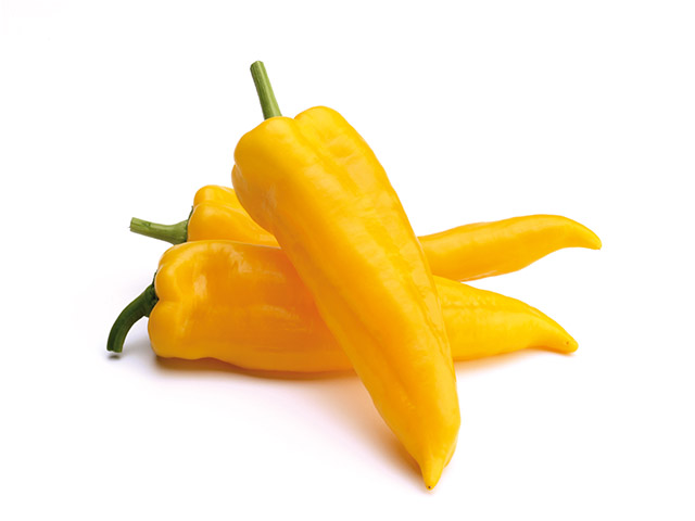Yellow Italian pepper