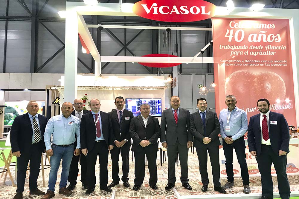 Anuncio en Fruit Attraction de la inauguración de su nueva sede en El Ejido