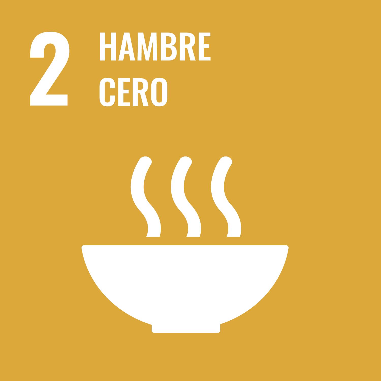 Acabar con el Hambre, garantizar alimentos sanos y nutritivos para toda la población y promover la agricultura sostenible