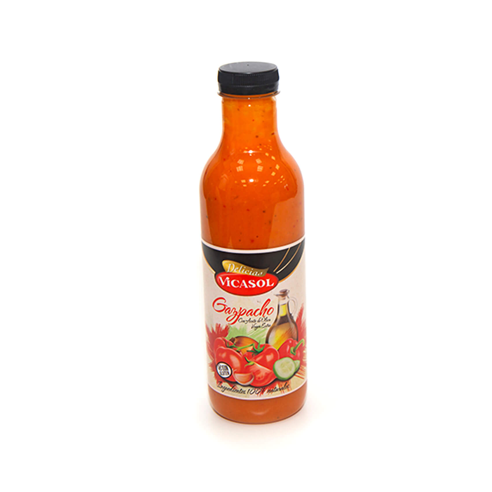 Gazpacho en botella PET