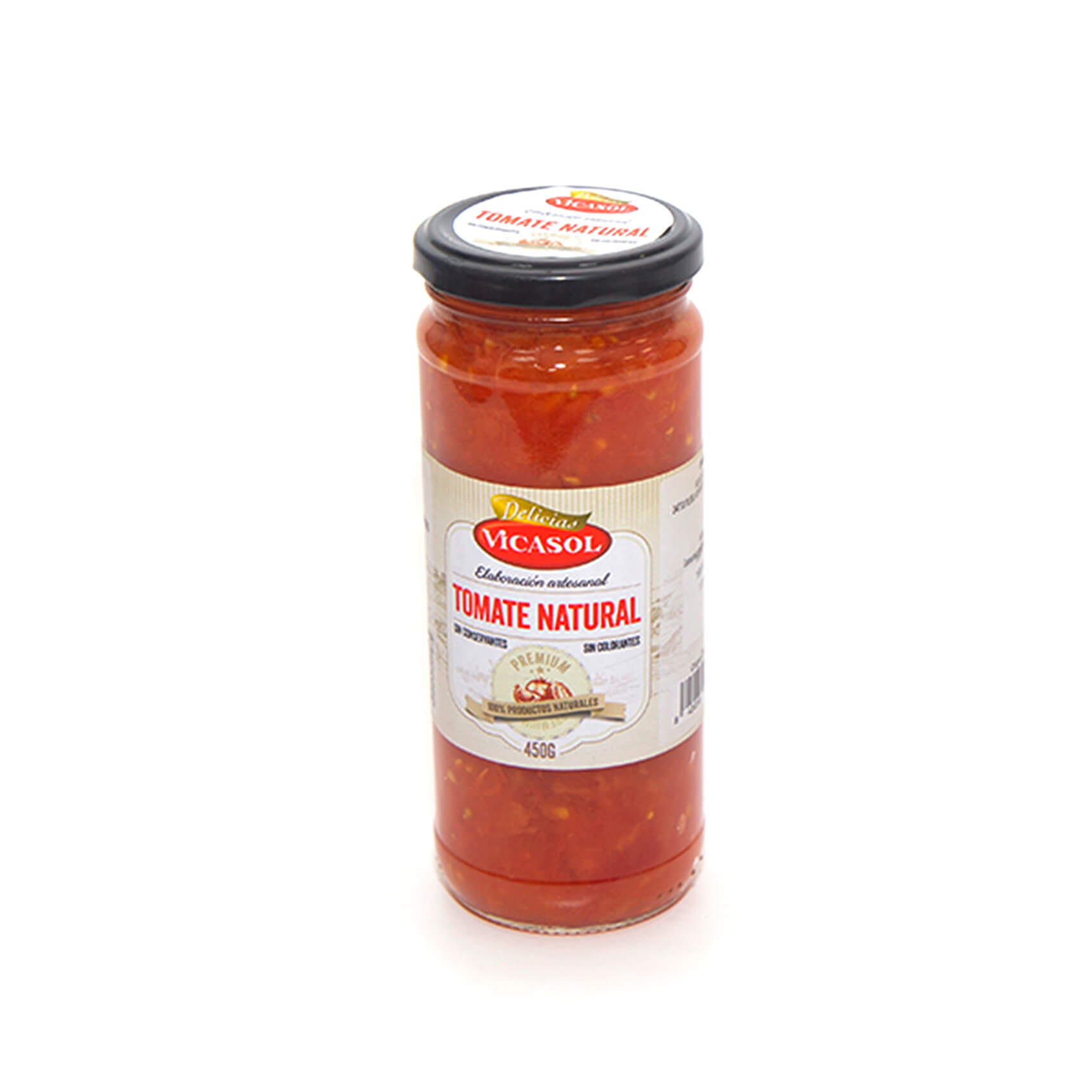 Natural tomato sauce