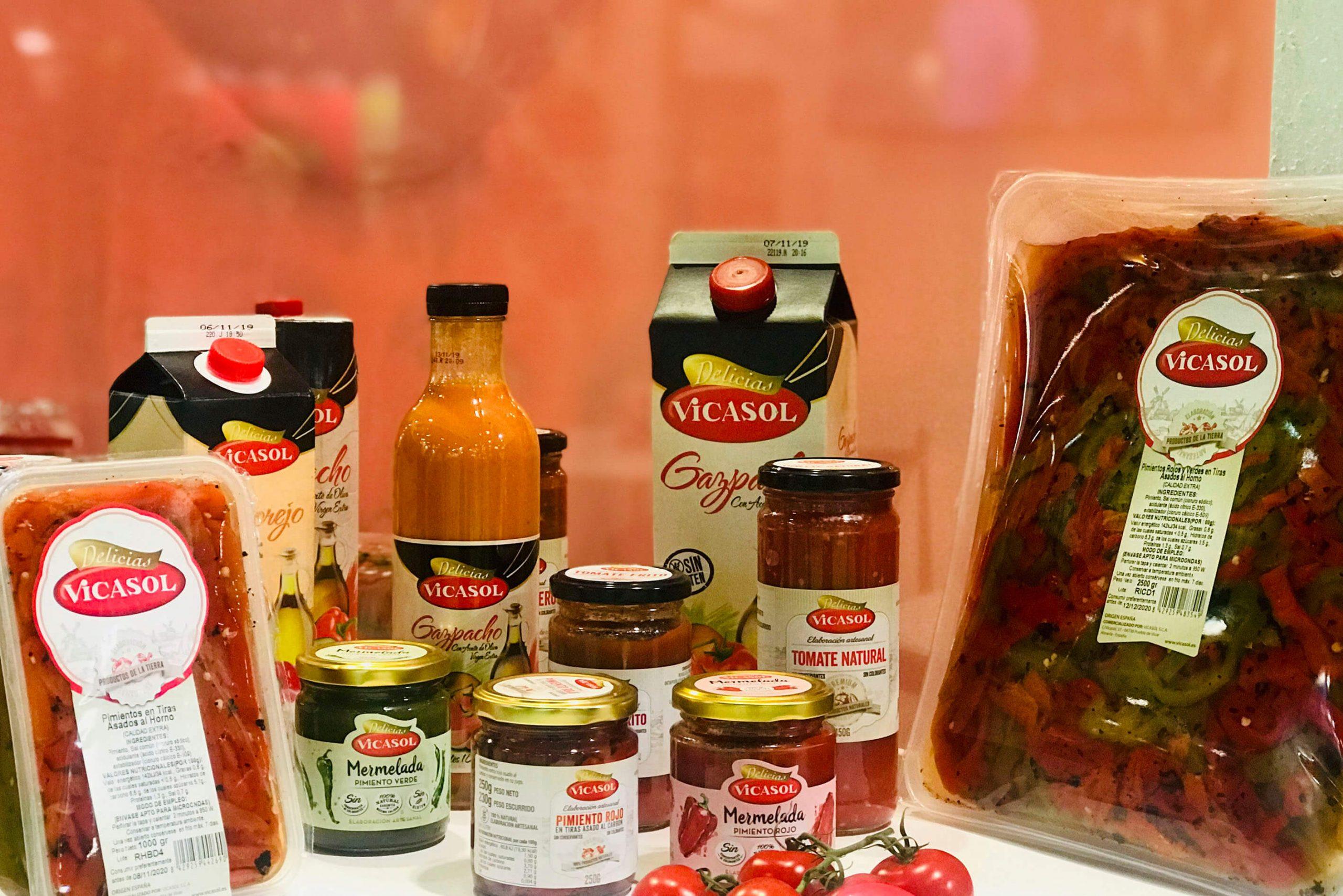 Vicasol arranca la campaña de gazpacho y salmorejo 100% naturales y libres de aditivos
