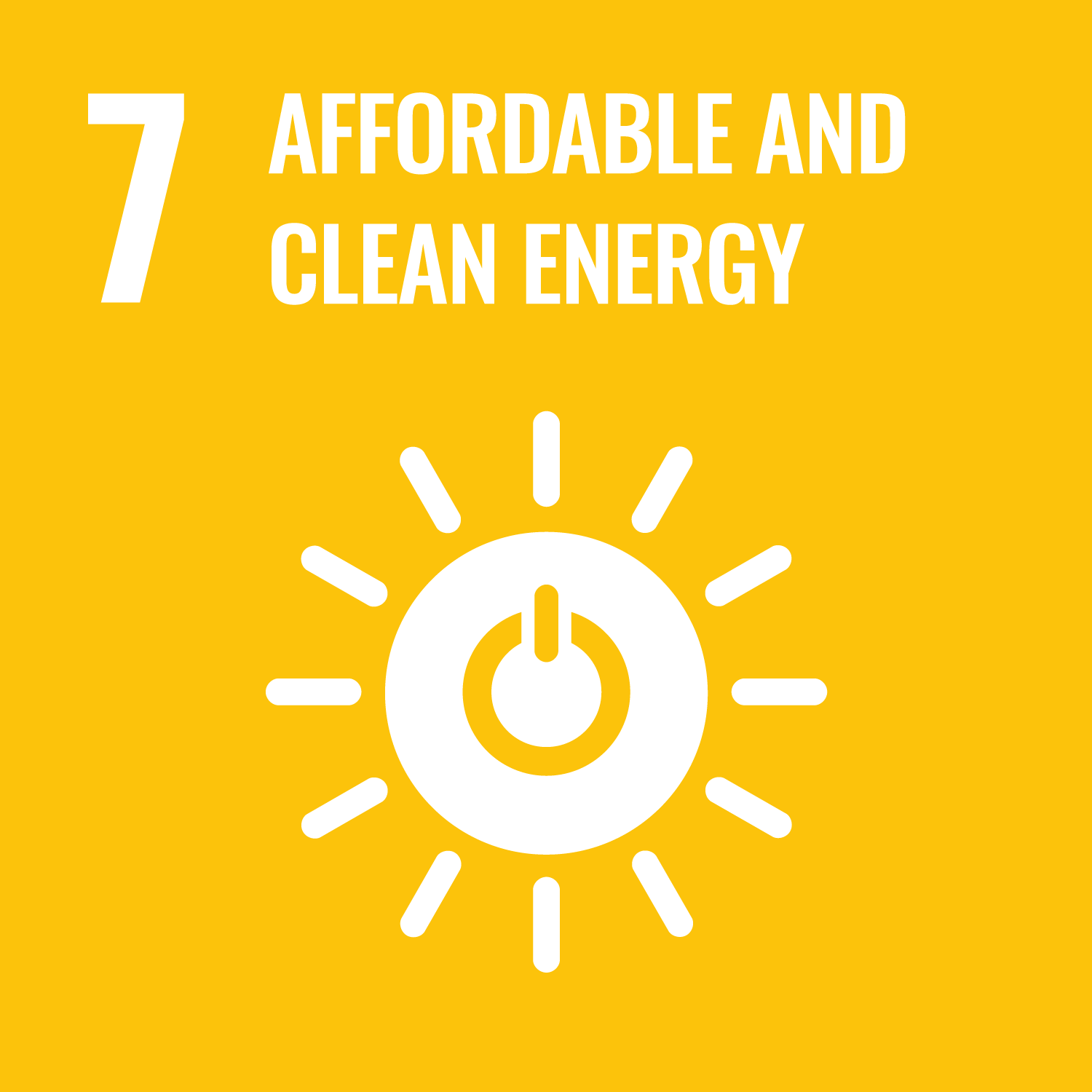 Facilitate the access to affordable, reliable, sustainable and modern energy for all