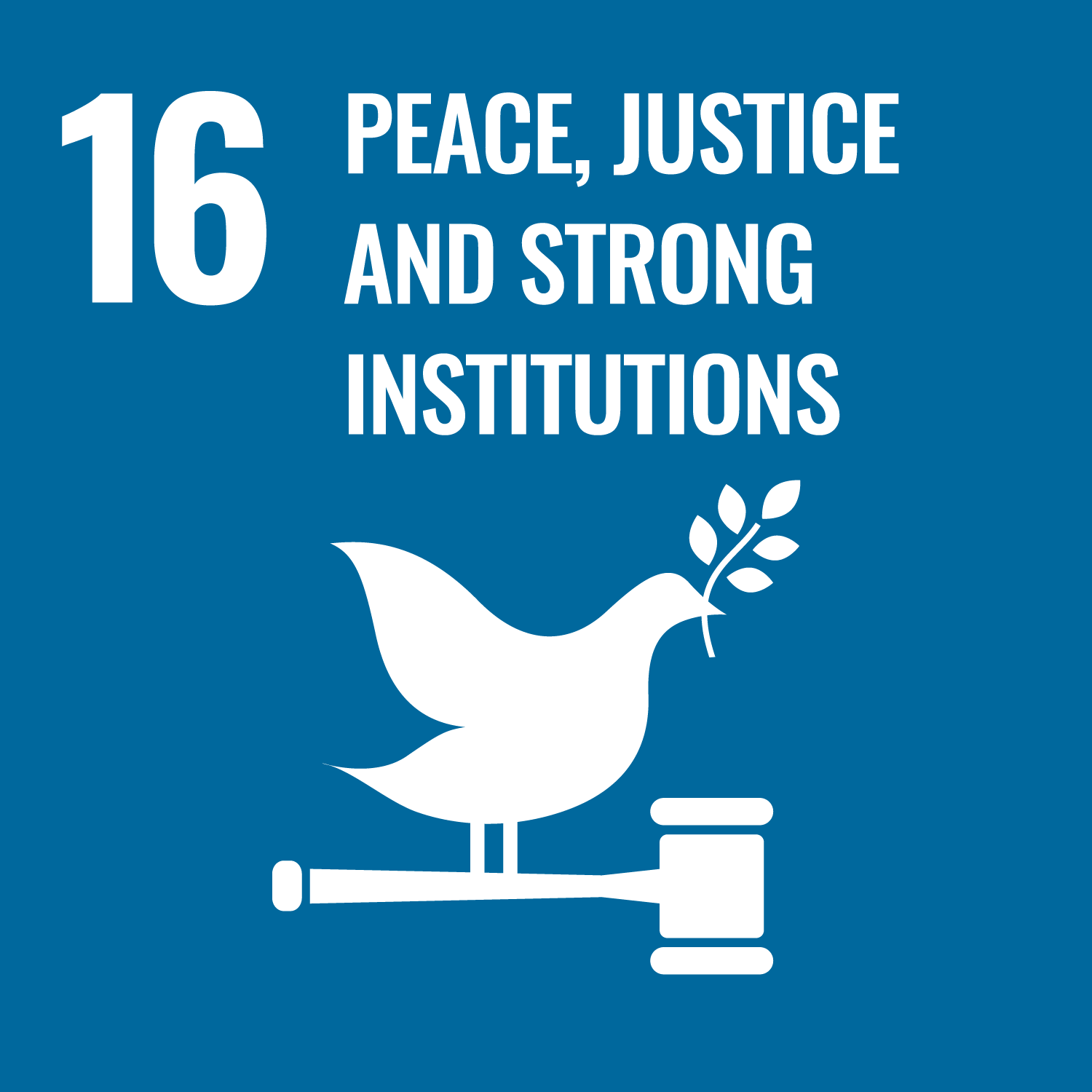 Promote peaceful and inclusive societies, provide access to justice for all and build effective, accountable and inclusive institutions at all levels