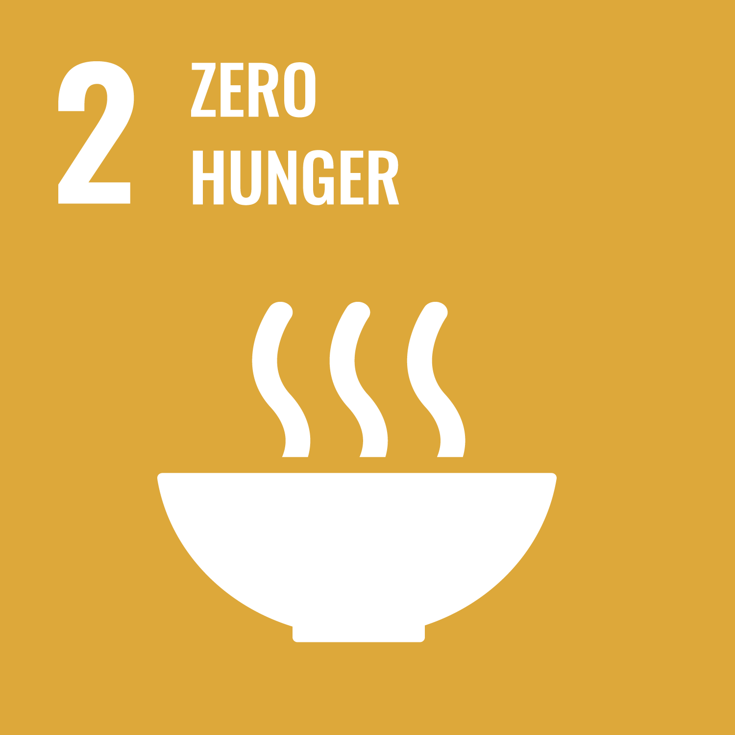 End hunger, achieve security and improved nutrition and promote sustainable agriculture.